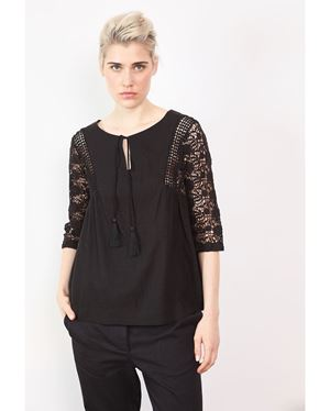 Stella Forest Thecle Blouse Black Was: £189.00 Now: £69.00