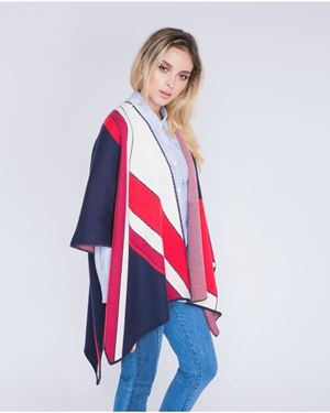 Suncoo Guerino Poncho multi Was: £159.00 Now: £111.30
