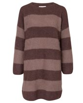 Punto D'oro Stripy Jumper Brown & Natural £139.00 (was £185.00)