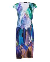 Ariana Multi Feather Dress Feather Print £59.00 (was £149.00)