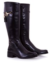 Vitti Love Crust Black Boot Black £139.00