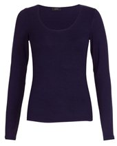 Joseph Long Sleeve Stretch Top Navy £75.00