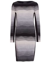 Ariana AD1805 Dress Grey & Black £109.00