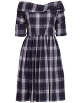 Emily and Fin Doris Dress Charcoal £79.00