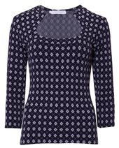 Rayure Urubu Top Navy £55.00