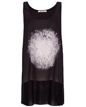 Crea Concept Abstract Dot Top Black £95.00
