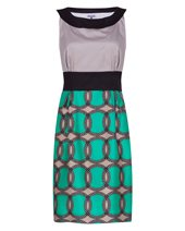 Vilagallo Sleeveless Rings Dress Garden £52.00 (was £129.00)