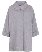 Weekend Max Mara Beber Coat Pearl Grey £435.00
