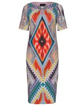 Ariana Aztec Print Dress Aztec £145.00
