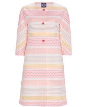 Vilagallo Diamonte Coat Pink £299.00