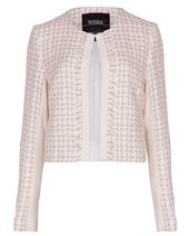 Nissa Gold Tweed Jacket Off White £87.00 (was £219.00)