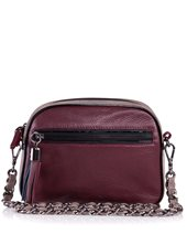 Caractere Two Tone Bag Burgundy £95.00 (was £189.00)