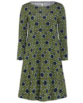 Marella Cheque Dress Green £195.00