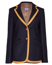 Vilagallo Boston Trim Jacket Navy & Mustard £157.00 (was £209.00)