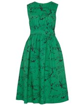 Emily and Fin Lucy Long Dress Green Acrobat £69.00