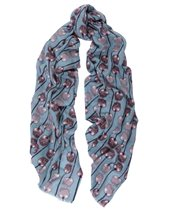 Yarnz Candy Apple Scarf Nile £104.00 (was £149.00)