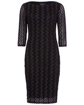 Ariana AD1776 Sparkle Dress Black & Silver £109.00