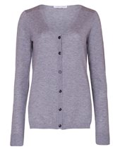 Caractere Silk Mix Cardigan Grey £124.00 (was £165.00)