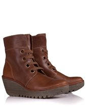 Fly London Yel Boots Camel £55.00 (was £110.00)