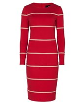 Nissa RZ5684 Stripe Dress Red £118.00 (was £169.00)