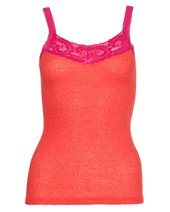 Palace London Wide Lace Camisole Firecracker £27.00
