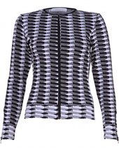 Rayure Oscar 7 Zip Up Top Black & White £75.00
