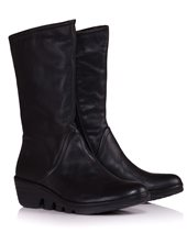 Fly London Pama Boots In Black Black £86.00 (was £115.00)