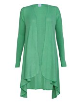 Palace London Waterfall Cardigan Leaf Green £55.00