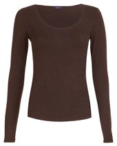Joseph Long Sleeve Stretch Top Khaki £75.00