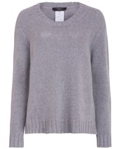 Weekend Max Mara Licenza Jumper Light Grey £199.00