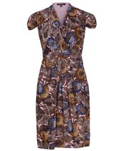 Emily and Fin Elsa Dress Peach Floral £65.00