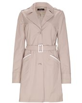 Peruzzi S14195 Trench Coat Sand £89.00 (was £149.00)