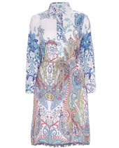 Vilagallo Lara Shirt Dress Blue £99.00