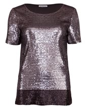 Marella Walk Sequin Top Medium Grey £86.00 (was £115.00)