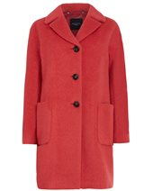 Weekend Max Mara Brera Coat Red £369.00
