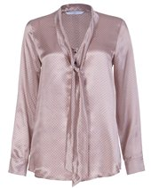 Marella Teti Silk Shirt Mastic £46.00 (was £155.00)