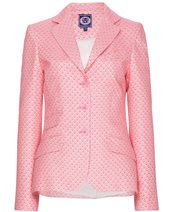 Vilagallo Silver Thread Jacket Pink £92.00 (was £229.00)