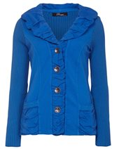 Peruzzi S14122 Cardigan Bright Blue £85.00