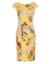 Nissa Floral Panel Dress Print £86.00 (was £215.00)