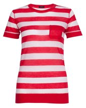 Joseph Cashair Stripe Red £89.00 (was £215.00)