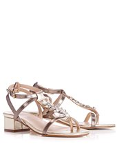 Marella Reo Sandals Pewter £179.00