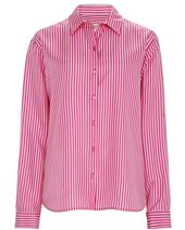 Weekend Max Mara Anta Silk Shirt Fuchsia £179.00