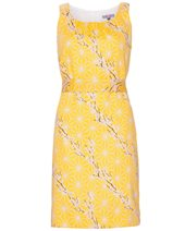 Vilagallo Sorrento Dress Yellow £79.00