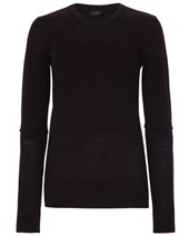 Joseph Round Neck Merino Charcoal £66.00 (was £165.00)