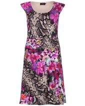 Ariana Floral Sleeveless Dress Floral £129.00