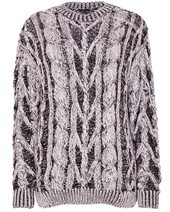 Joseph Cable Sweater Black & White £245.00
