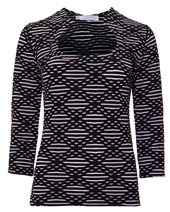 Rayure Cassidy Top Black & White £45.00