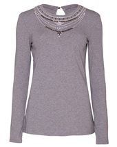 Marella Ranetta Top Melange Grey £74.00 (was £99.00)