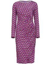 Ingenue Eve Dress Leaf Purple £84.00