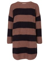 Punto D'oro Stripy Jumper Camel & Black £139.00 (was £185.00)